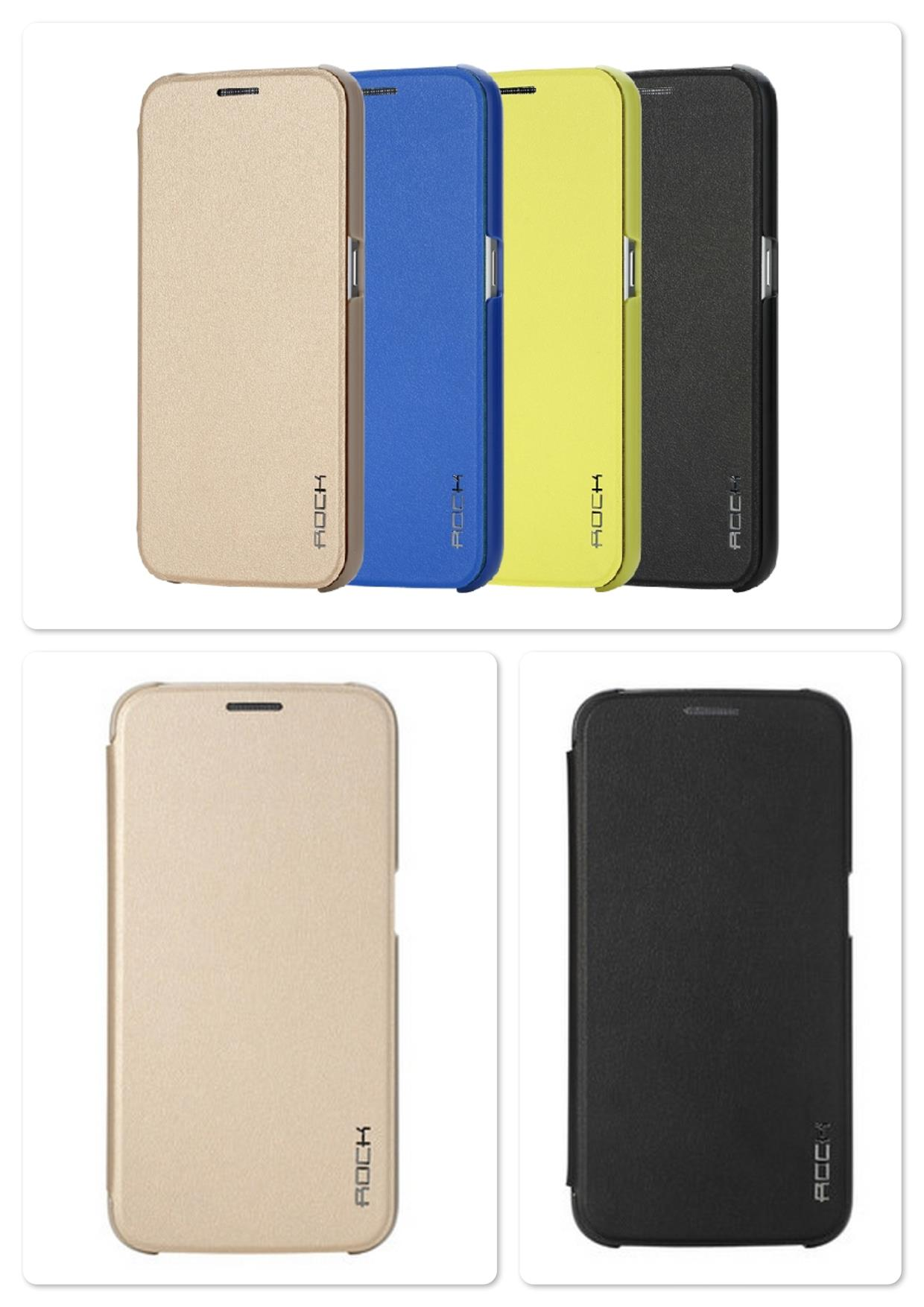 Bdotcom = Samsung Galaxy S6 Rock Touch series Leather Case