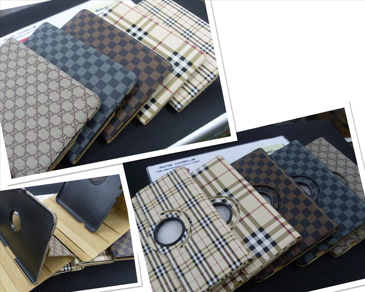 bdotcom = samsung galaxy tab 1 / tab 2 P5100 rotating leather case = b