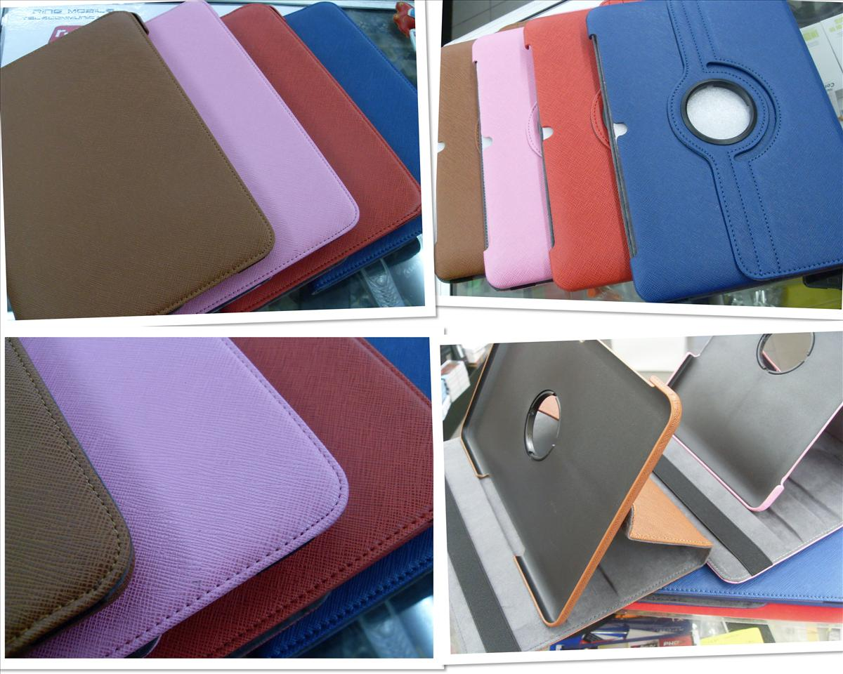 bdotcom = samsung galaxy tab 2 10.1 P5100 rotating leather case =