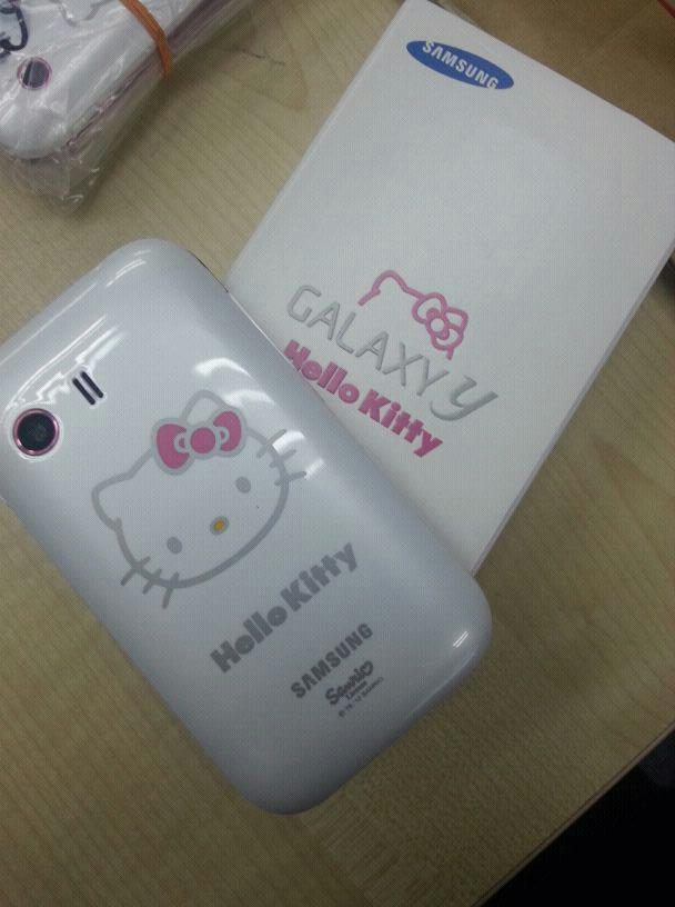 bdotcom = Samsung Galaxy Y S5360 Special Hello Kitty Edition = new set