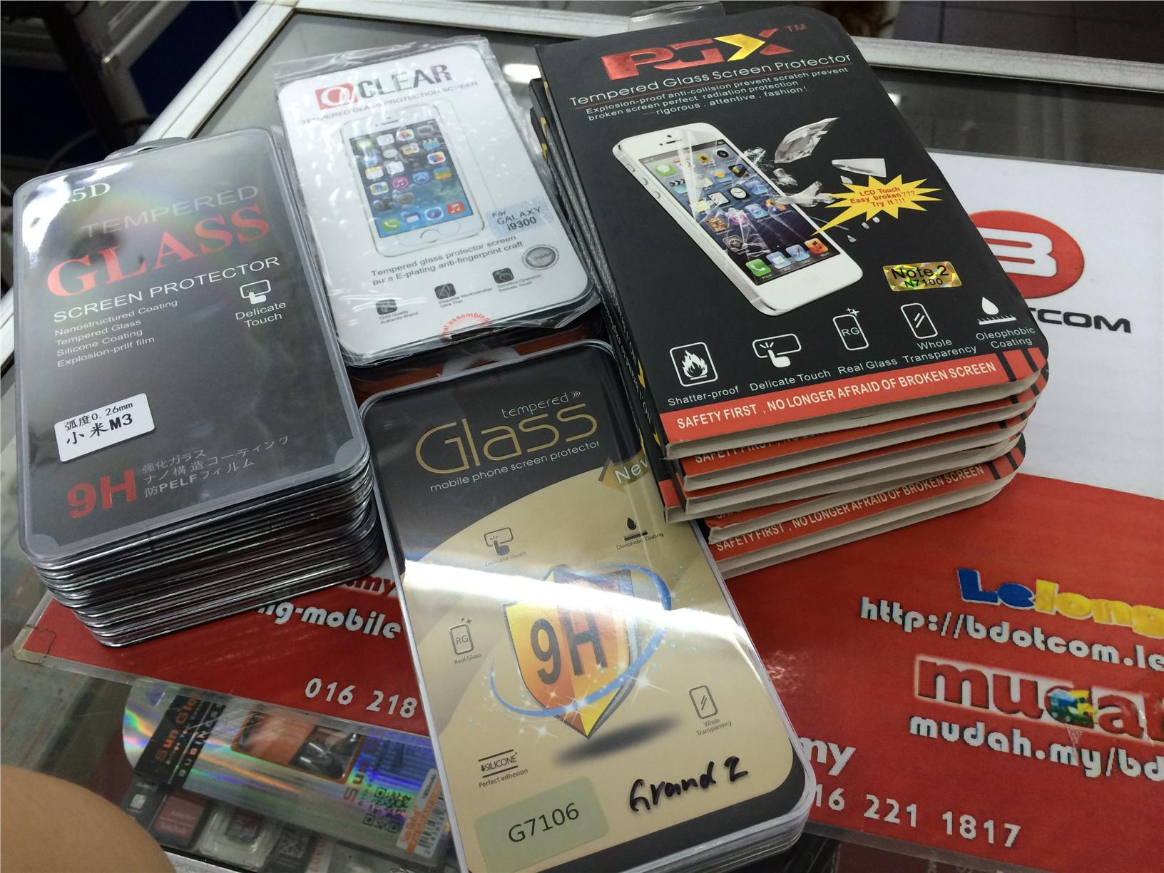 Bdotcom = XiaoMi Mi3 Tempered Glass Screen Protector