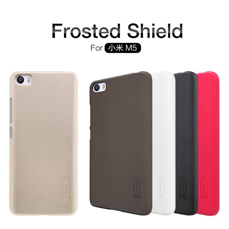 Bdotcom = Xiaomi Mi5 Nillkin Super Frosted Shield Cover Sand Case