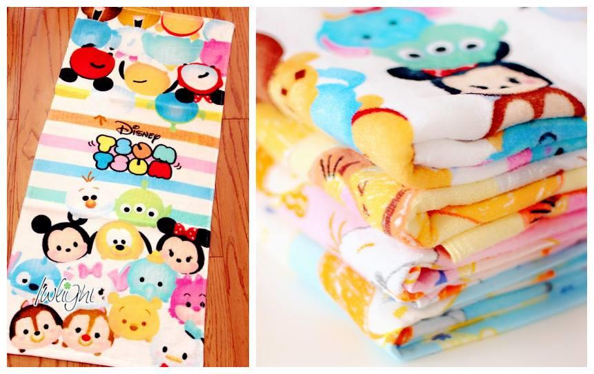 BE0050 ICONIC TSUM TSUM FACIAL TOWEL