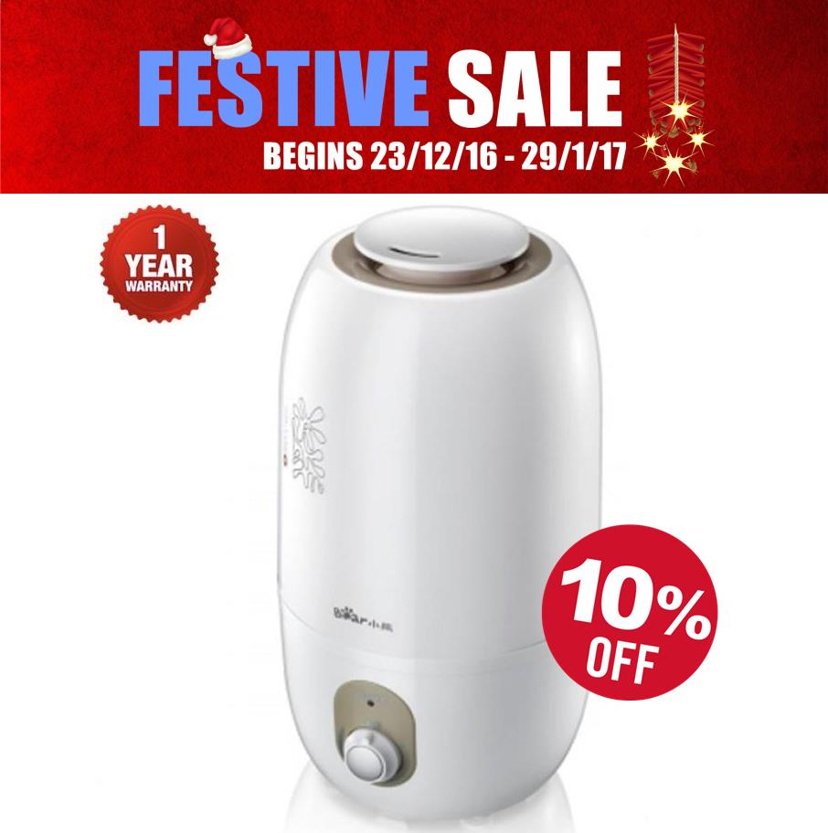 Bear JSQ-A30Y1 Ultra-quiet Air Humidifier (3 Litre) *1 Year Warranty