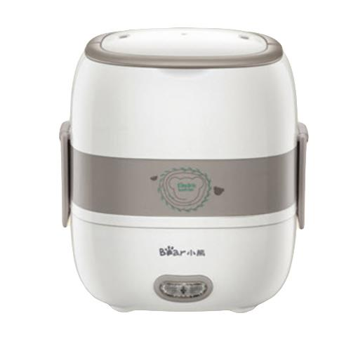 Bear S2516 Double Layer Electric Lunch Box Cooker (White)