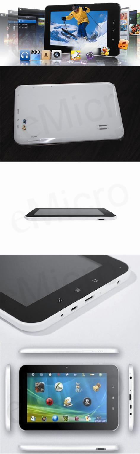 BEAUTIFUL Super Thin 1.5Ghz  Android Tablet PC -IPS vs ainol vs samsung