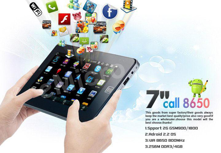 VERY BEAUTIFUL Tablet PC can CALL/SMS like xpad ipad samsung