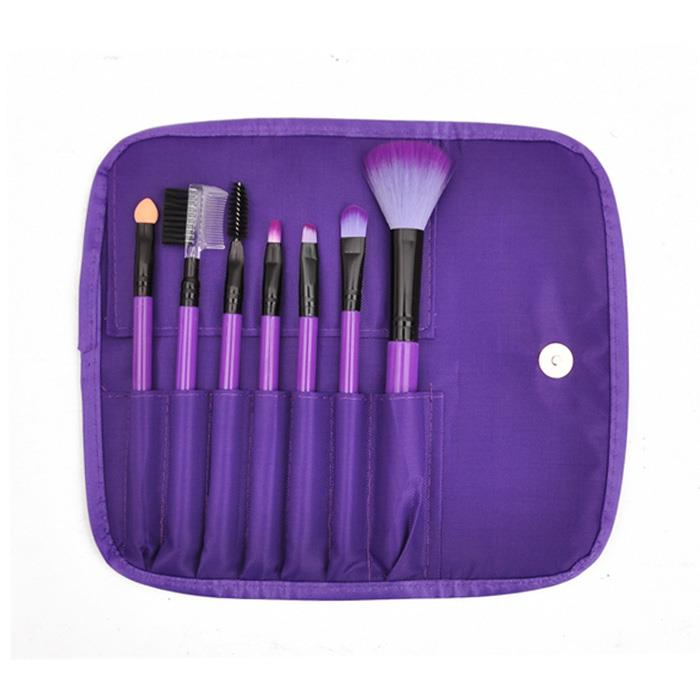 Beauty Essential~7 pcs Portable Makeup Brushes Set