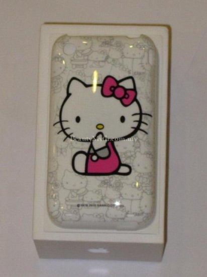**BeautyMyth** Crystal Clear Hello Kitty Case ~ White