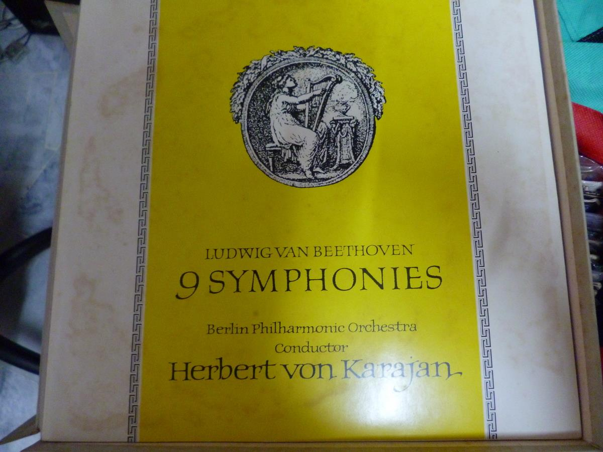 BEETHOVEN ALL 9 SYMPHONIES COLLECTION LP VINYL