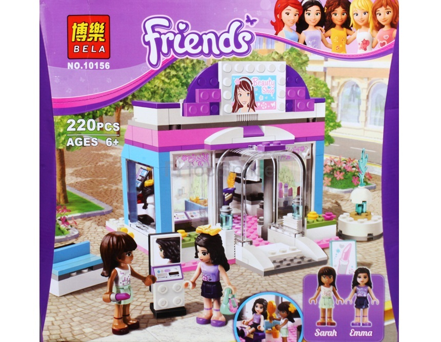 BELA 10156 Friends SeriesButterfly Beauty Shop LEGO Compatible Bricks7