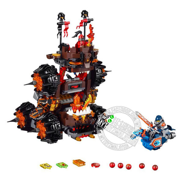 Bela 10518 Nexo Knights General Magmar's Siege Machine of Doom
