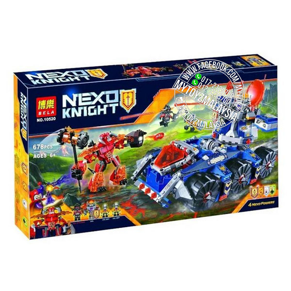 Bela 10520 Nexo Knights Axl's Tower Carrier Building Blocks