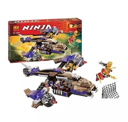 Bela Lego Compatible NinjaGo 10321 Cobra Air Fighter