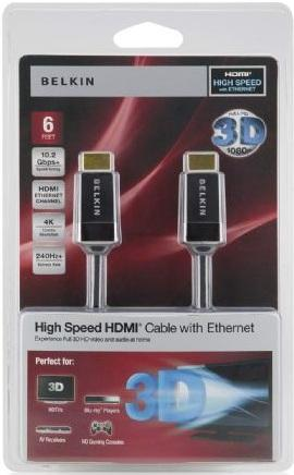 Belkin 3d High Speed Hdmi Cable 3m Av10050 12 End 3 10