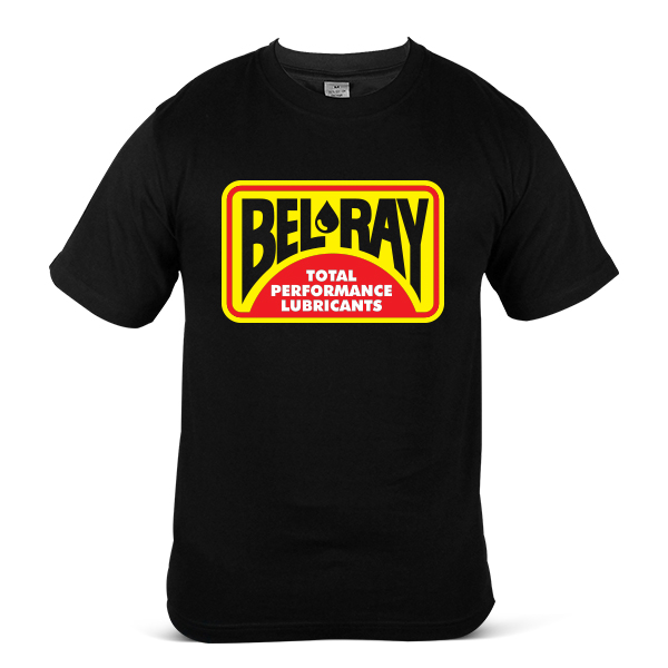 BELRAY BEL-RAY Motorcycle Bike Racing OIL Fuel Unisex Casual T-Shirt 1