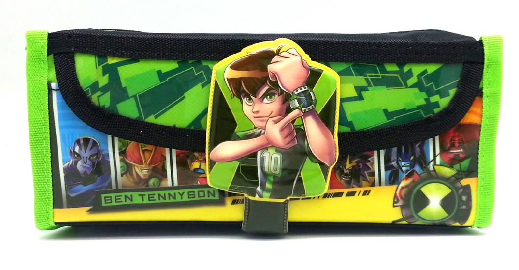 BEN 10 SQUARE PENCIL BAG * Genuine licensed