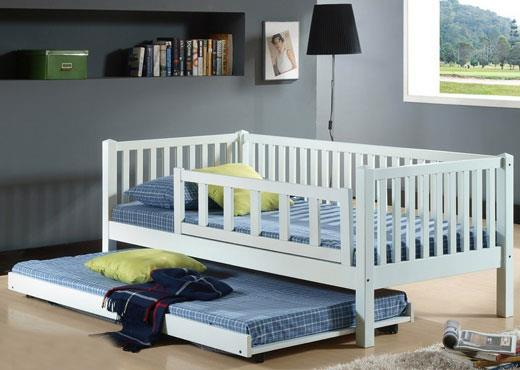 Ben Guard Wooden Day Bed with Trundle