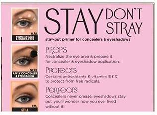 BENEFIT STAY DON'T STRAY 2.5ML MINI TRAVEL SIZE