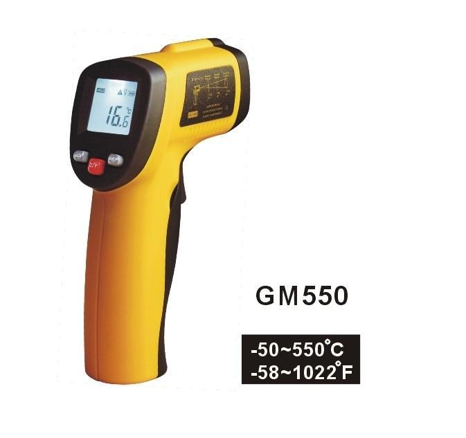 Benetech Digital Infrared Thermometer GM550 (-50 ~ 550 Deg C)