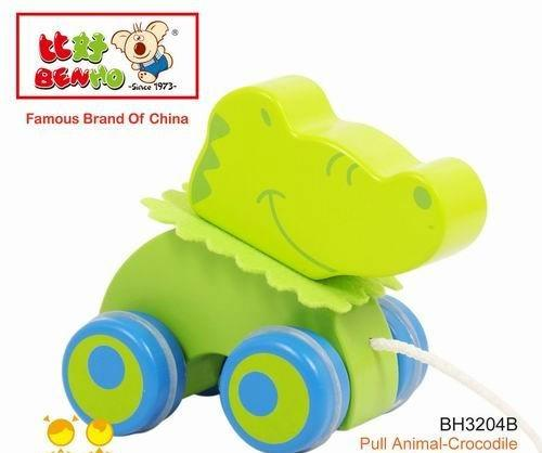 Benho: Pull Animal- Crocodile (For 12 months +)
