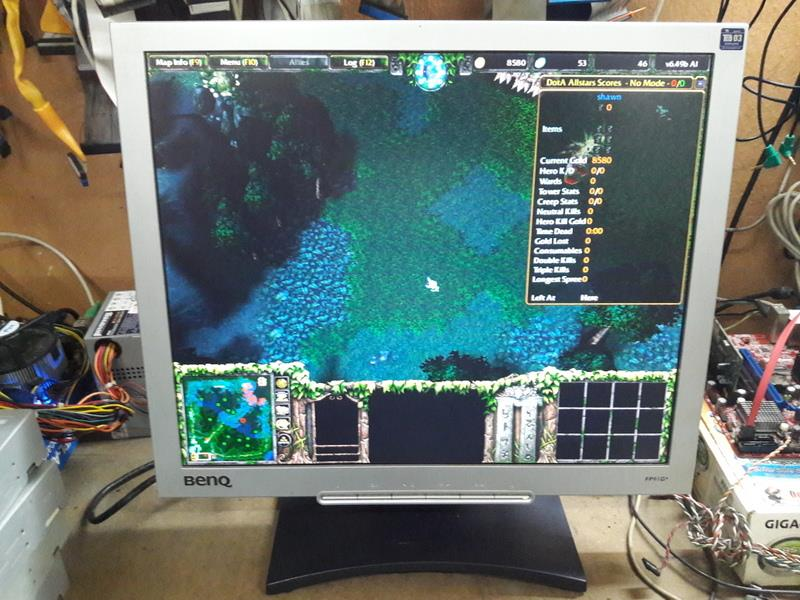 Benq FP91G+ 19 inch Square LCD Monitor 041116