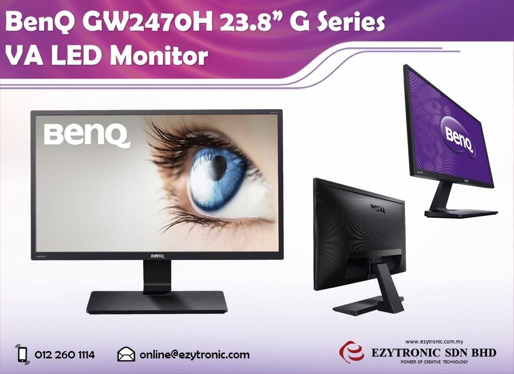 "BenQ GW2470H 23.8"" G Series VA LED Monitor"