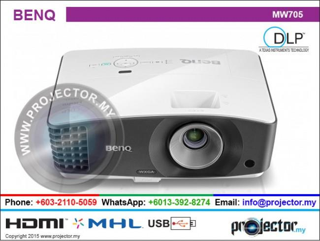 BENQ MW705 WIRELESS PROJECTOR