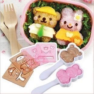 bento lunch box accessories teddy be end 7 1 2017 12 00 am. Black Bedroom Furniture Sets. Home Design Ideas
