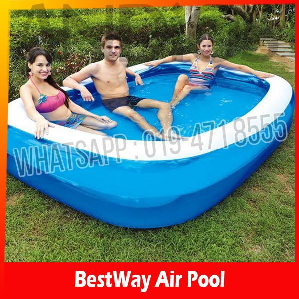 Bestway inflatable paddling pool fam end 11 3 2016 8 15 pm for Large paddling pool
