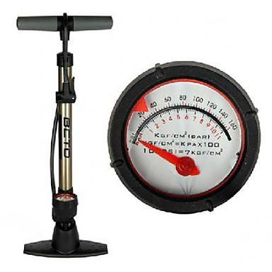 BETO Aluminum Alloy 25-inch Floor-Pump with Pressure Gauge CMP-069
