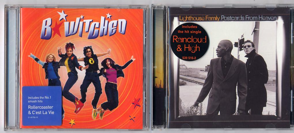 'Bewitched' & 'Lighthouse Family' 2 CDs