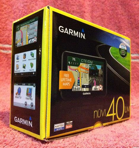 ~*Beztech*~ 100% New Genuine GARMIN GPS Nuvi 40LM SG/MY AECO set