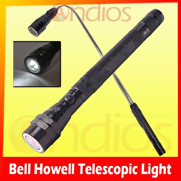 bhtl bell howell telescope led magnetic tip torch light lampu suluh. Black Bedroom Furniture Sets. Home Design Ideas