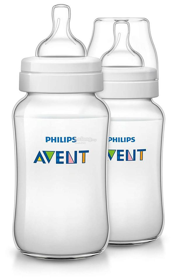 [Bibi] Philips Avent Classic+ Bottle 11oz/330ml Twin Pack