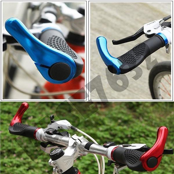 Bicycle Bike Cycling Lock On Handlebar Grip with Bar Ends