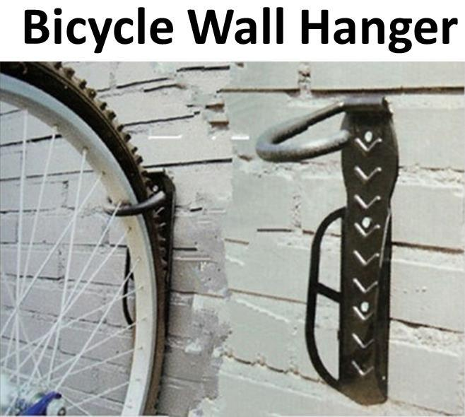 bicycle hook Wall mounted bicycle rack bike hanger hook + screw
