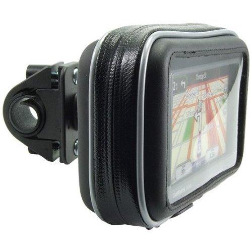 Bicycle & Motorcycle GPS Handle Bar Mount with Water Resistant Holder