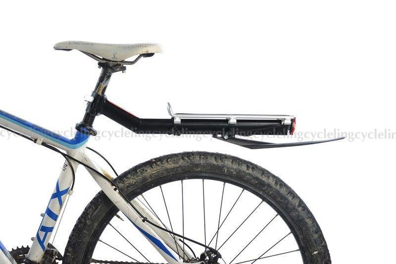 Bicycle Rear Rack New Aluminum Rack Bike Bicycle Rear Luggage Carrier
