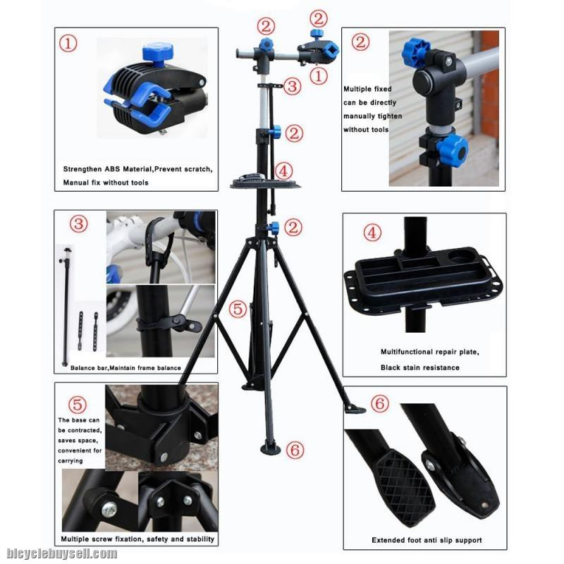 BICYCLE REPAIR STATION RACK STAND FOR ROADBIKE MTB MOUTAIN BIKE