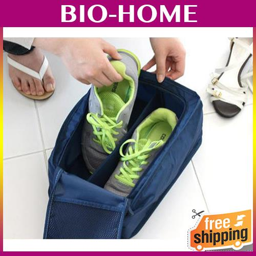 BIG Shoe Travel Pouch EASY ORGANIZE ORGANIZER BOX LUGGAGE STORAGE ZIP