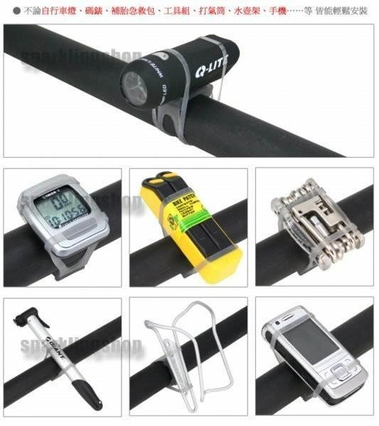Bike Bicycle Cycling Light Clip Fixed Bandage Stands bracket Accessori..
