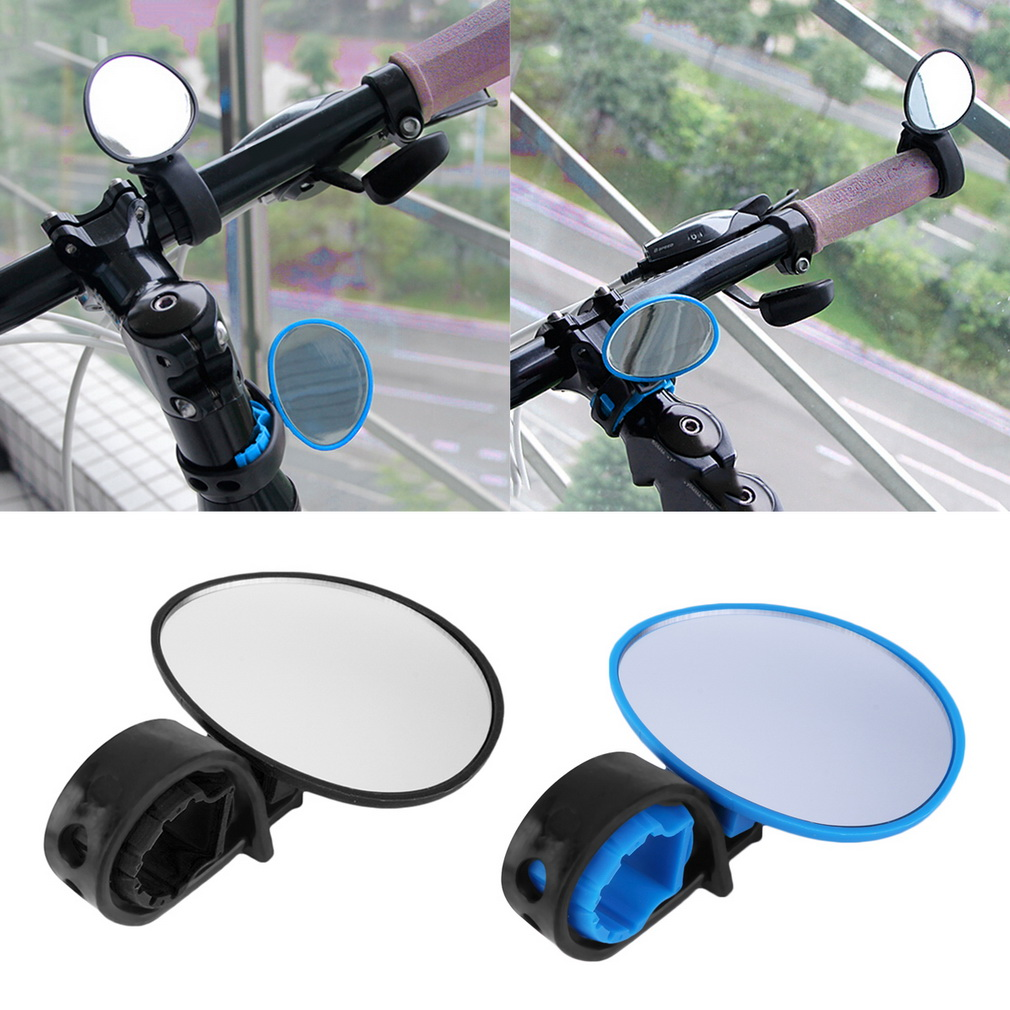 Bike Bicycle Cycling Rear View Mirror Handlebar Flexible Safety Rearvi..