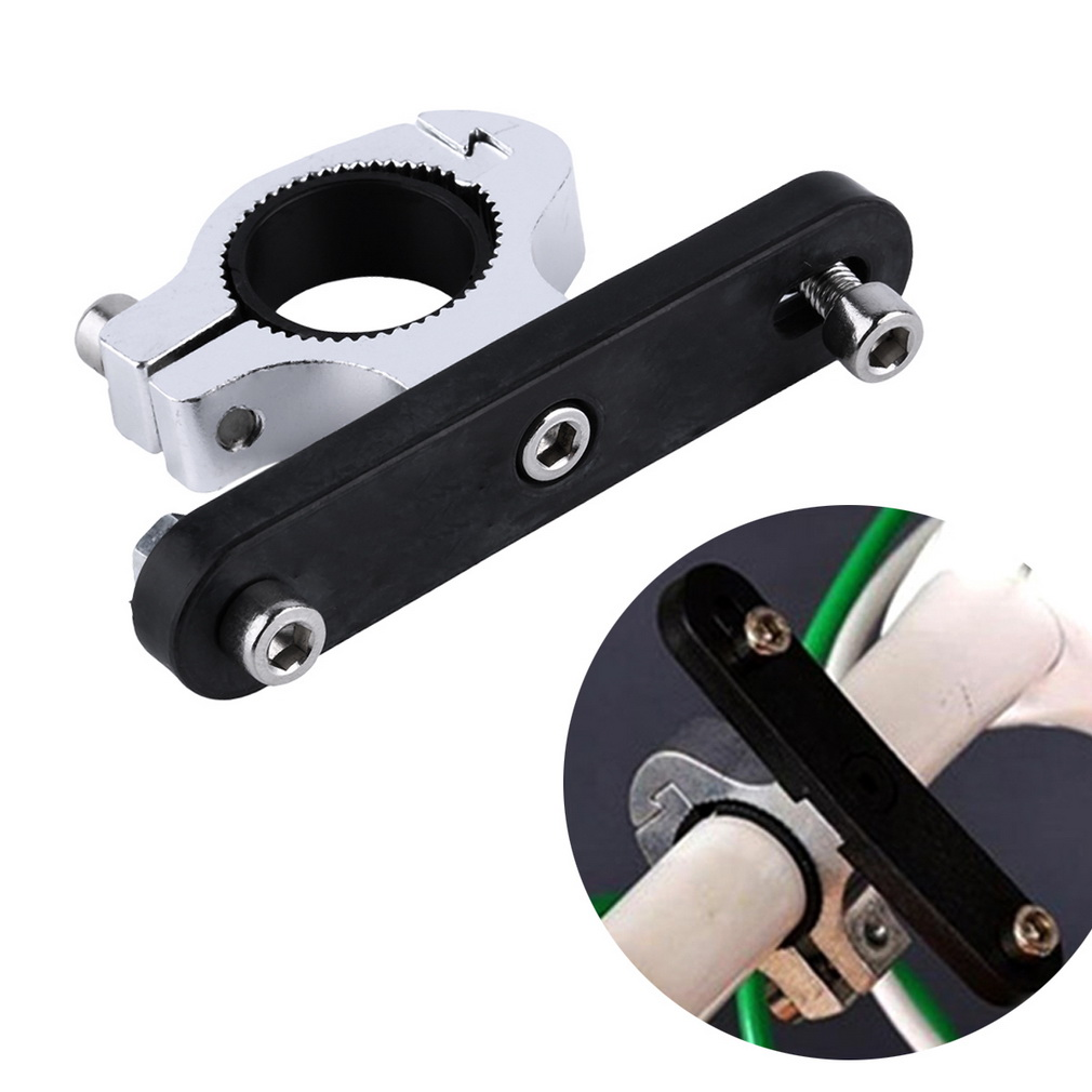 Bike Bicycle Water Bottle Cage Holder Clamp Clip Handlebar Bracket Mou..