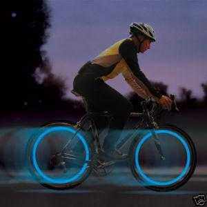 Bike & Bicycle Wheel Valve Cap LED Safety Light with Motion Sensor (2p..