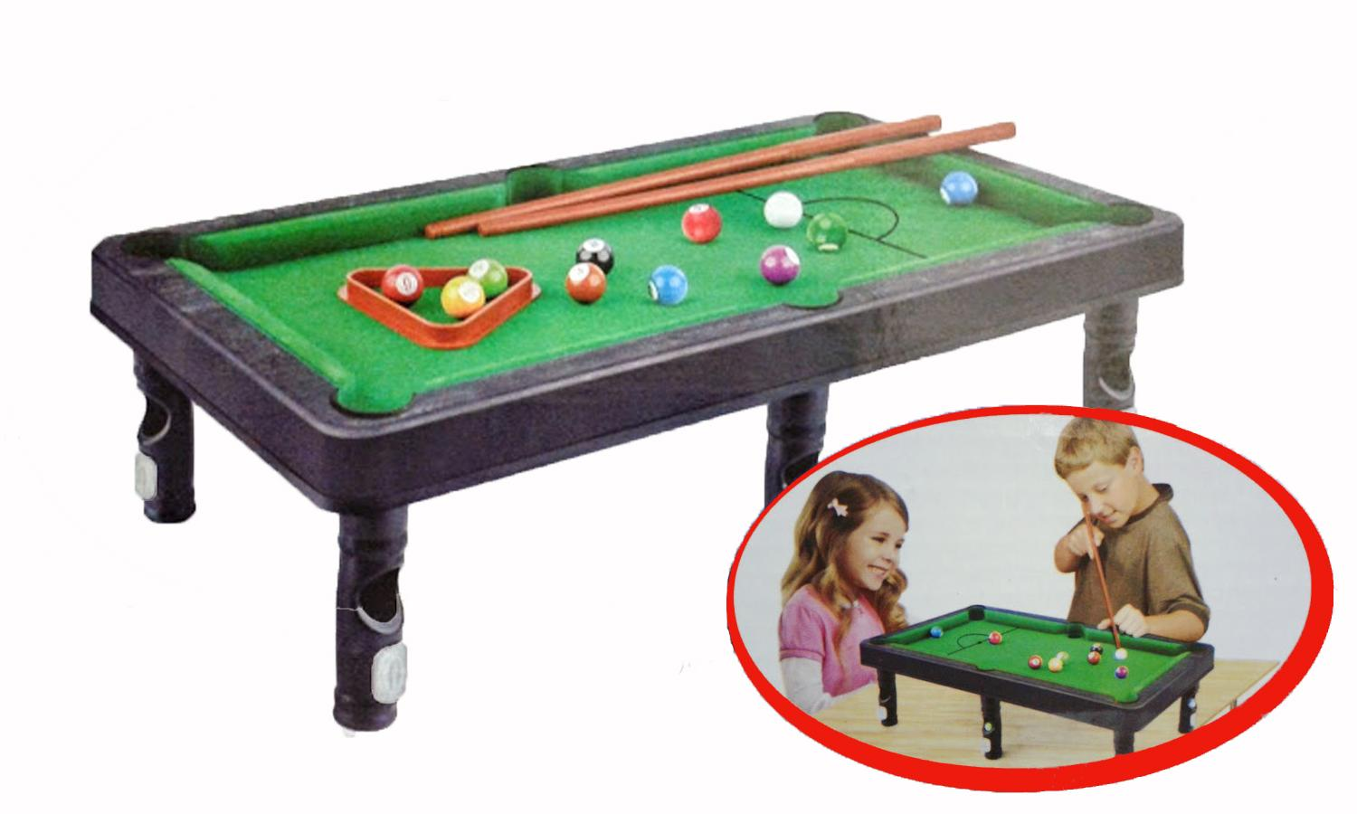 Billiards Set VS Deluxe Set Snooker Children Kids Toy Games