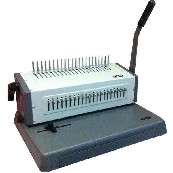 BINDING MACHINE HEAVY DUTY FULLY METAL BODY - 10 YEAR WARRANTY