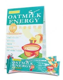 BIOGREEN-Five Grain Oatmilk Energy Packet (11 Sachets x 30g)