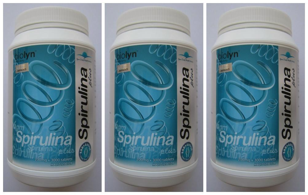 Biolyn Spirulina+Calcium 3000's (discounted price) - Exp Date: 3/2016