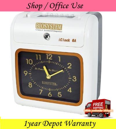Biosystem iClock6A Shop/Office Use Time Clock